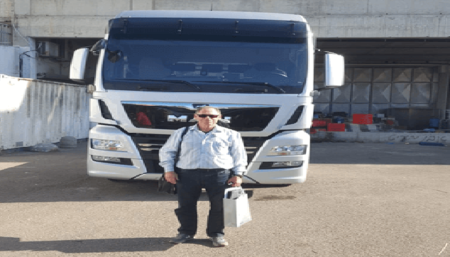 דוד קליין מורה לנהיגה סמיטריילר