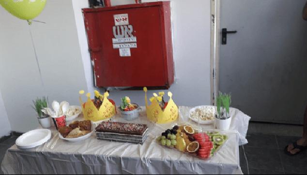 חוגגים יום הולדת בקורס משא כבד